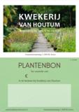 Cadeaubon Kwekerij van Houtum_
