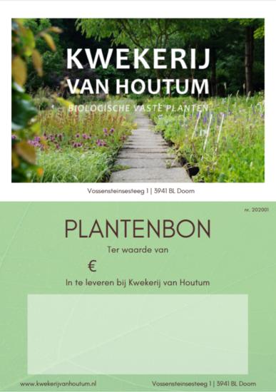 Cadeaubon Kwekerij van Houtum
