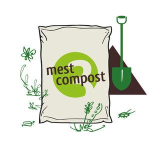 Biologische organische mestcompost Bio-Kultura